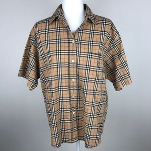 Vintage BURBERRY Nova Check Button Up Shirt